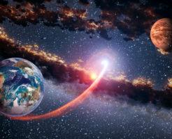 火星 接近 影響