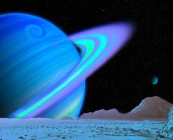 土星 衛星 海