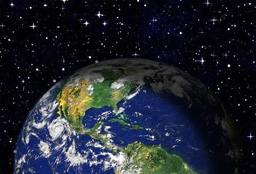 地球 宇宙 色