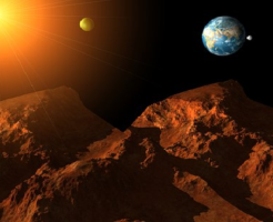火星 山 名前