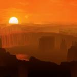 火星の大気は太陽風にはぎとられた!?