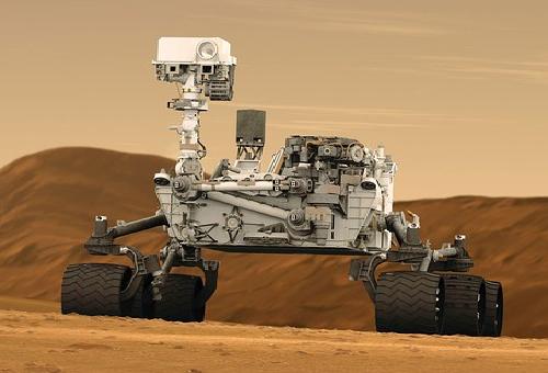 火星 キュリオシティ 発見