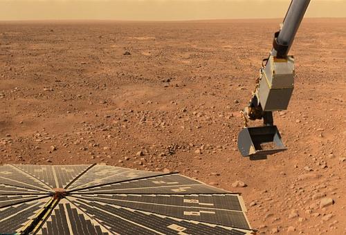 火星グーグルアース 基地