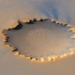 火星のクレーターの大きさや特徴について!