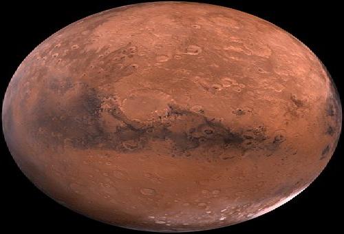 火星 クレーター 名前