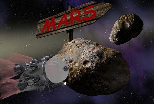 火星 宇宙船 時間