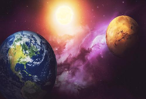 火星 気圧 地球