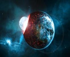 地球 ジャイアントインパクト 痕跡