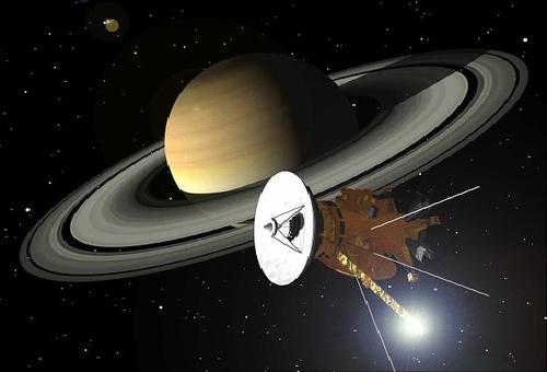 土星 タイタン 音