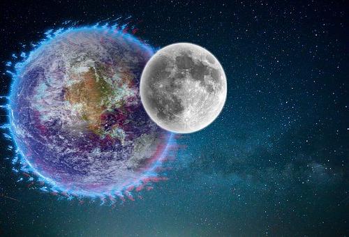 地球 月 衝突