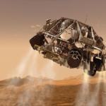 火星での探査機の着陸方法とは!?