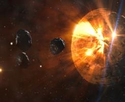 木星 小惑星 衝突