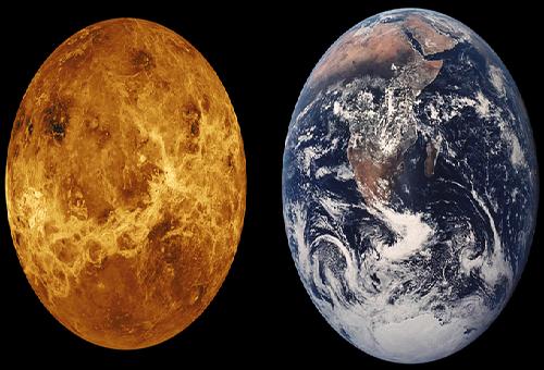 地球 金星 違い