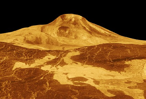 金星 山 最も 高い