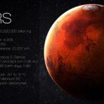 火星の表面はどんな模様をしているの?