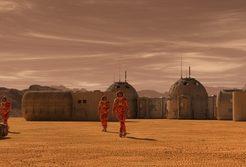 火星 地球 歩く