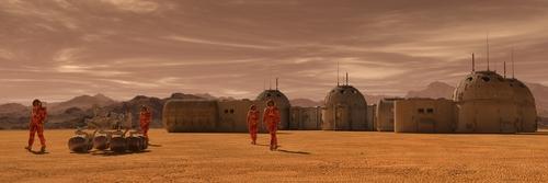 金星 火星 住む