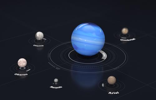 天王星 衛星 ミランダ