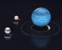 海王星 衛星 大きさ