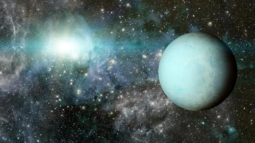 天王星 自転 向き