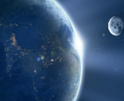地球 遠心力 向き