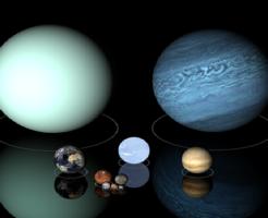 水星 地球 比較