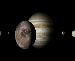 水星 衛星 大きい