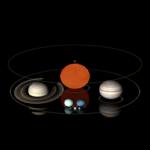 土星と地球の大きさや密度を比較してみた!