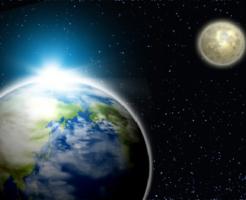 地球 月 違い