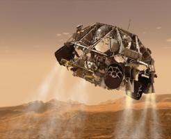 火星 着陸 方法