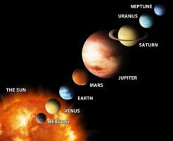 海王星 大きさ 太陽
